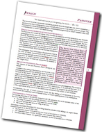 Download Passover Study Sheet