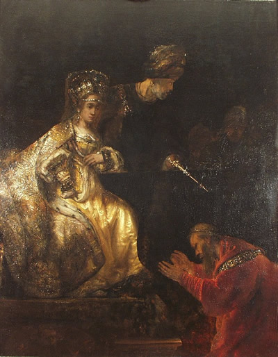 Haman Begging the Mercy of Esther
