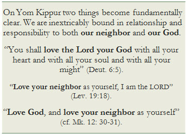 """Love God and Love your Neighbor"""